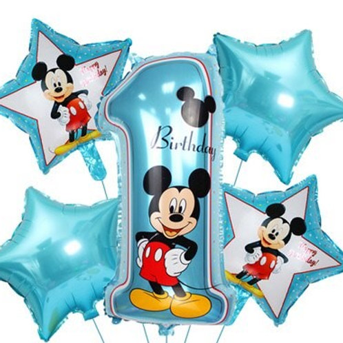 Zestaw balonów na roczek dla Chłopca(#56)