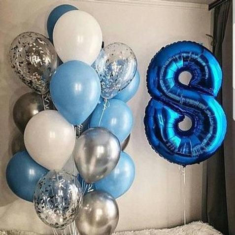 Zestaw balonów na 8 urodziny (#40)