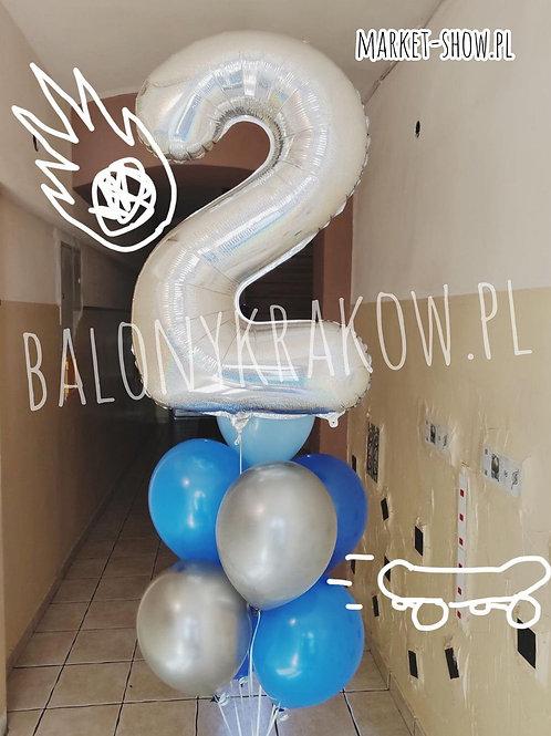 Zestaw balonów na 2 urodziny (#52)