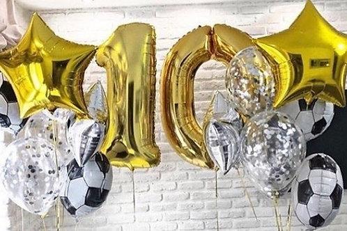 Zestaw balonów na 10 urodziny (#10)
