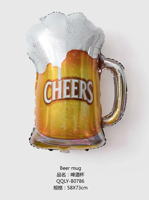 """""""Piwo Cheers"""" (58*73cm)"""