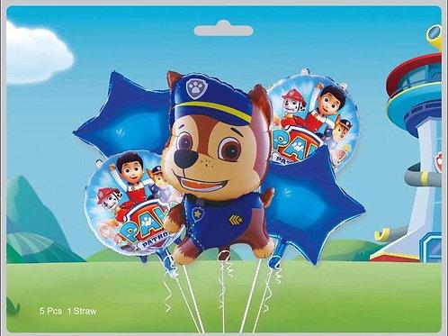 Zestaw balonów Psi Patrol (#58)