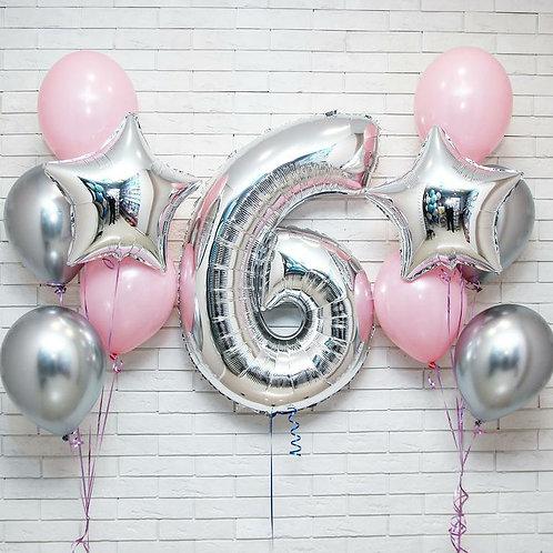 Zestaw balonów na 6 urodziny (#25)