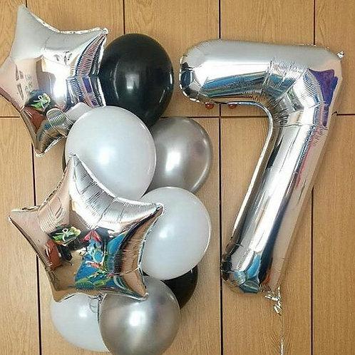 Zestaw balonów na 7 urodziny (#27)