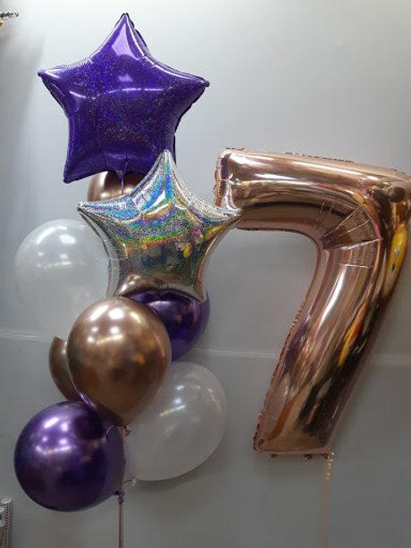 Zestaw balonów na 7 urodziny (#26)