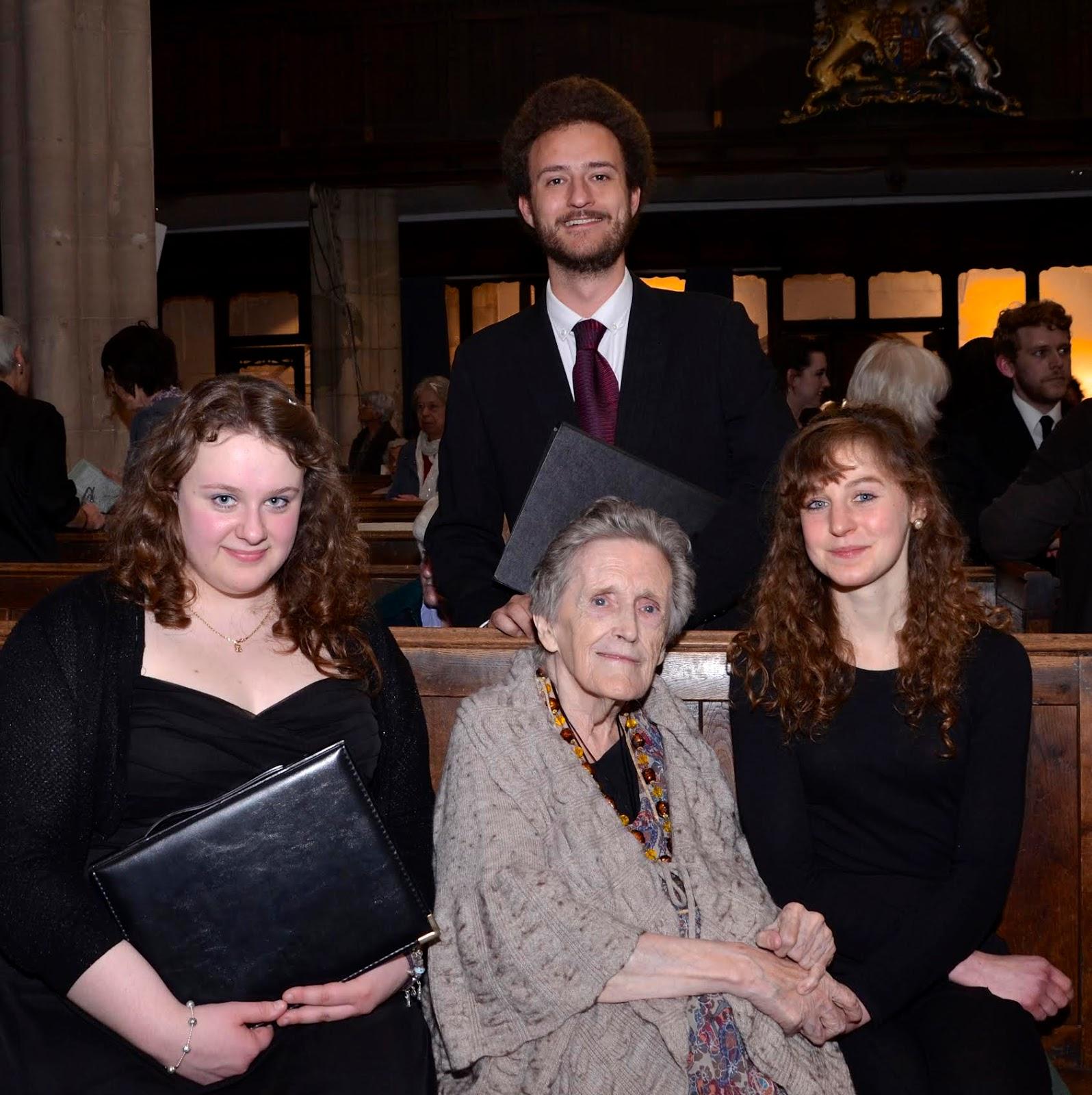 Celia Burgen Scholarship Winners 201