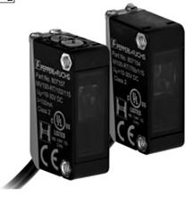Sensor fotoeléctrico de barrera, unidireccional