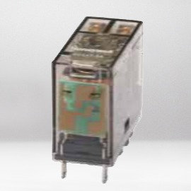 Relé doble inversor - 8 A - Bobina 110 Vcc