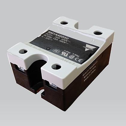 Relé de estado sólido MONOFÁSICO SSR ZS 230V 25A 4.5-32 VDC LED