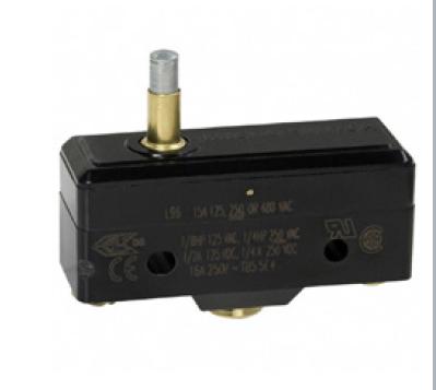 Microinterruptor con botón pequeño elevado
