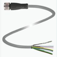 Cable 5 mts con conector M12 Recto de 8 polos material PUR-- P/inclinómetro INX.