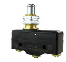 Microinterruptor con botón mediano elevado
