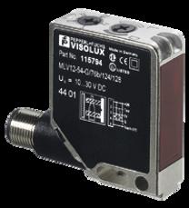 Sensor óptico de barrera por reflexión MLV12-54-G/76b/124/128