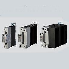 Rele de estado sólido con disipador DIN 230V 30A  4-32 VCC