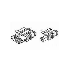 AMP -Superseal Plug 6 vias (x10)