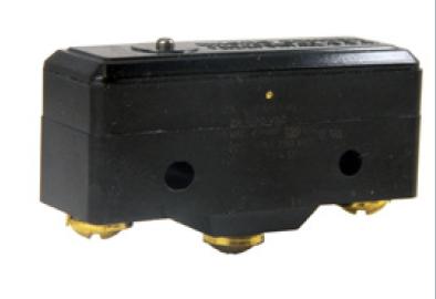 Microinterruptor con botón pequeño