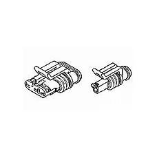 AMP-Superseal Plug 3V (x10)