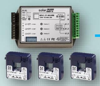 Medidor dual trifásico inteligente SOLAREDGE