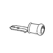 PIDG. AMAR. MACHO FAST.ANCHO 6.35MM (x100)