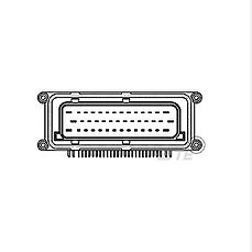 conector PCB Plug 42 P. (x10)