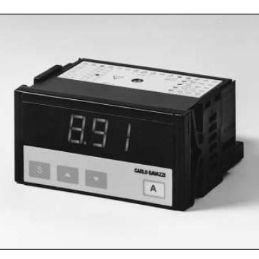 3.5 DIGIT PANEL METER 48X96 9-32VDC IP65 C