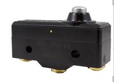 Microinterruptor con botón