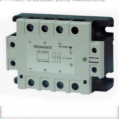 Relé de estado sólido Trifásico SSR RZ 600V 55A 4.5-32 VDC LE