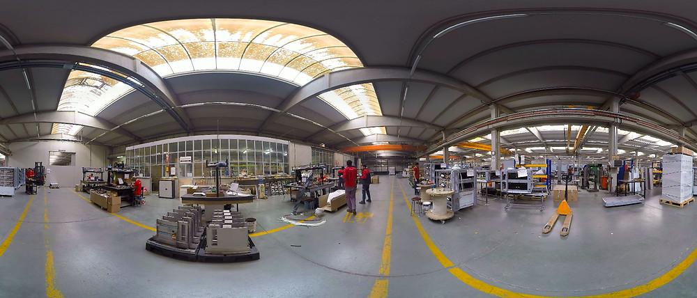 360 derece fabrika çekimi, 360 derece şantiye çekimi, 360 derece depo çekimi, 360 derece üretim tesisi çekimi, 360 derece ofis çekimi