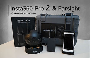 insta360 Pro 2 Türkiye, instapro 2, insta360 one x, insta360 one r, farsight
