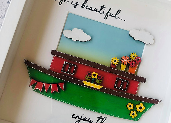 Life is Beautiful Barge Frame