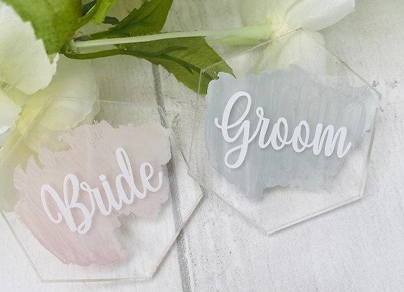 Personalised Wedding Place Settings