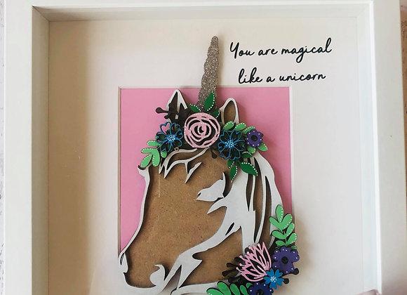 You Are Magical Unicorn Frame