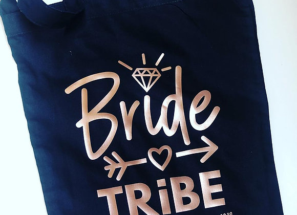 Personalised Bride Tribe Hen Party Bag
