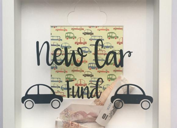 New Car Savings Frame