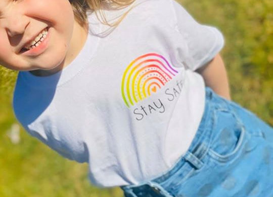 Adults Rainbow T-Shirt