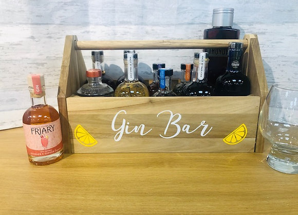Personalised Gin Caddy