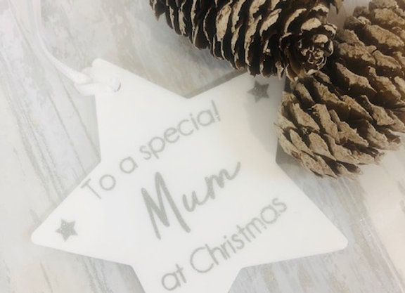 To a Special Someone at Christmas Tree Decoration