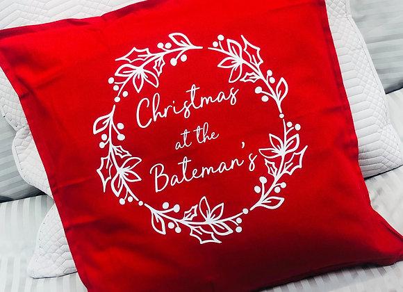 Personalised Christmas Cushion