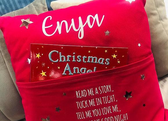 Personalised Story Pocket Cushion