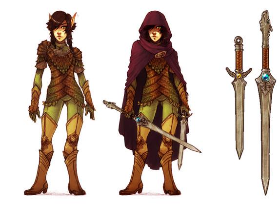 Ranger Character Sheet.