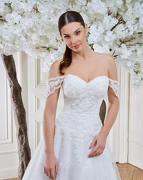 robe de mariée toulouse, robe de mariée classique, robe de mariée dentelle, robe de mariée drapée, robe de mariée trapèze