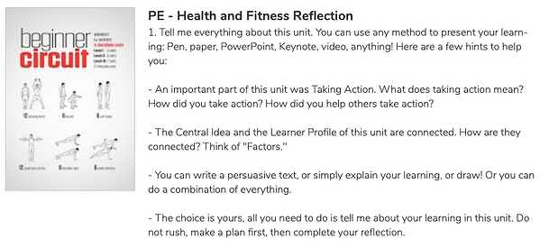 21PE_PYP_PSPE_G4_Health_Fitness_Reflecti