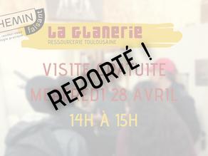 [CHEMIN FAISANT] Visite de la Glanerie !