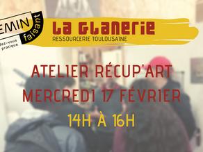 Atelier Récup'Art à la Gloire
