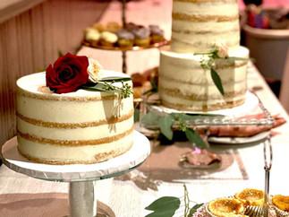 Vanilla Buttercream Naked Cake