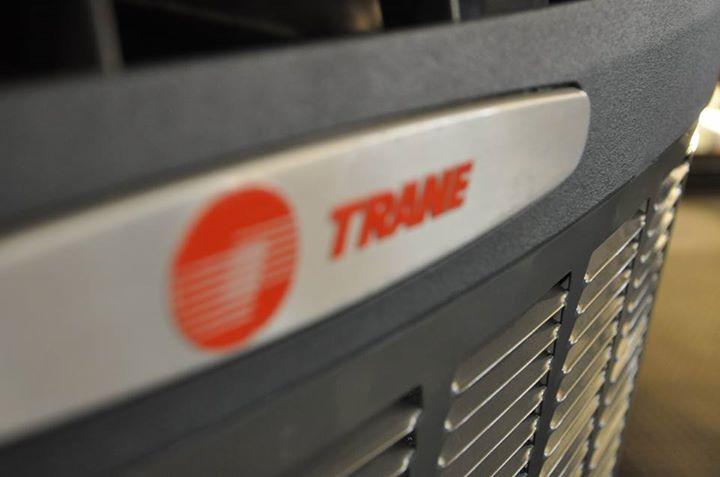Trane Logo Plate