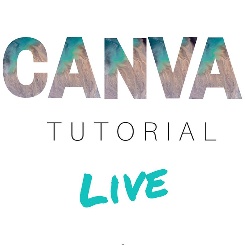 Live Canva Tutorial (FREE)