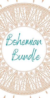 Bohemian Bundle Social Media Templates