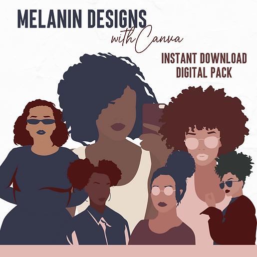 Melanin Designs Digital Pack