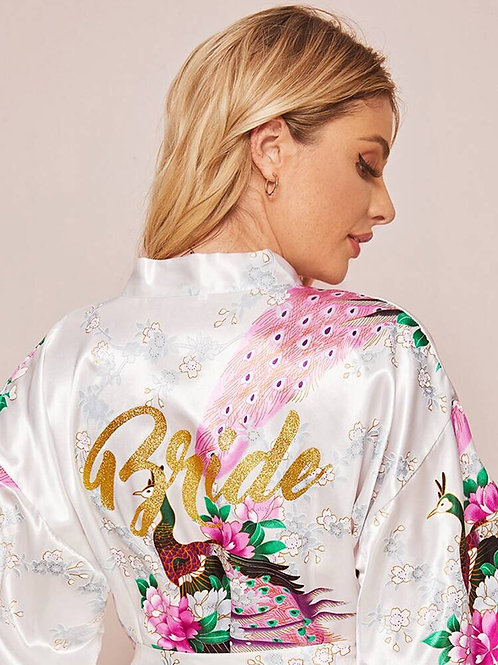 Floral Paradise Robe